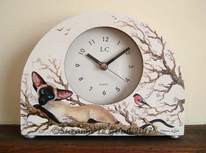 Clock Siamese