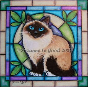 Birman Stained Glass cprt