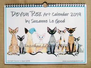 Calendar Devon Rex bound