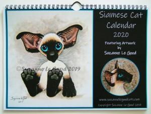 Calendar Siamese cover 2020