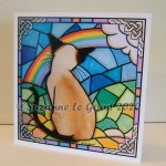 Card Rainbow Bridge Siamese