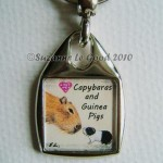 Keyring Square Little and Large close
