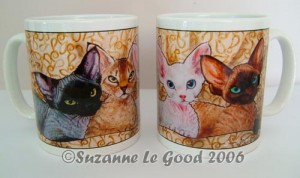 Mug Devon Kitten Row