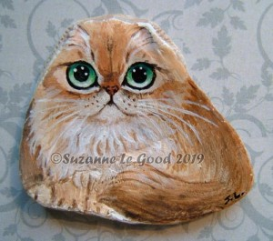 Oyster shell Golden Persian
