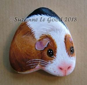Pebble Dutch Guinea Pig heart
