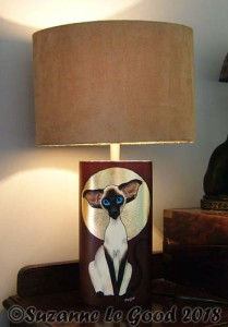 Siamese Table lamp 2