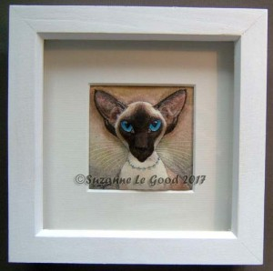 Siamese fabric painting frame