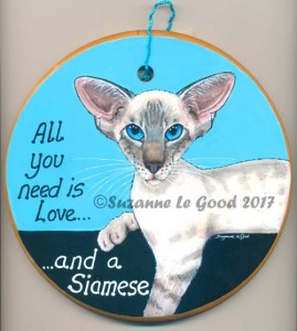Sign Siamese all you need is Love