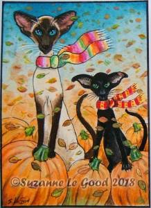 Two Choose their pumpkin photo cprt