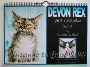 calendar Devon Rex cover