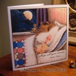 card Bedtime for Butterscotch