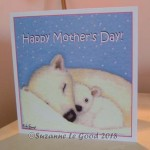 card Mother's day polar bears 2