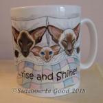 mug Siamese Wakey Wakey 2