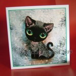 xmas card Black Smoke Devon sparkling